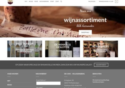 Wijnhandel de Cave