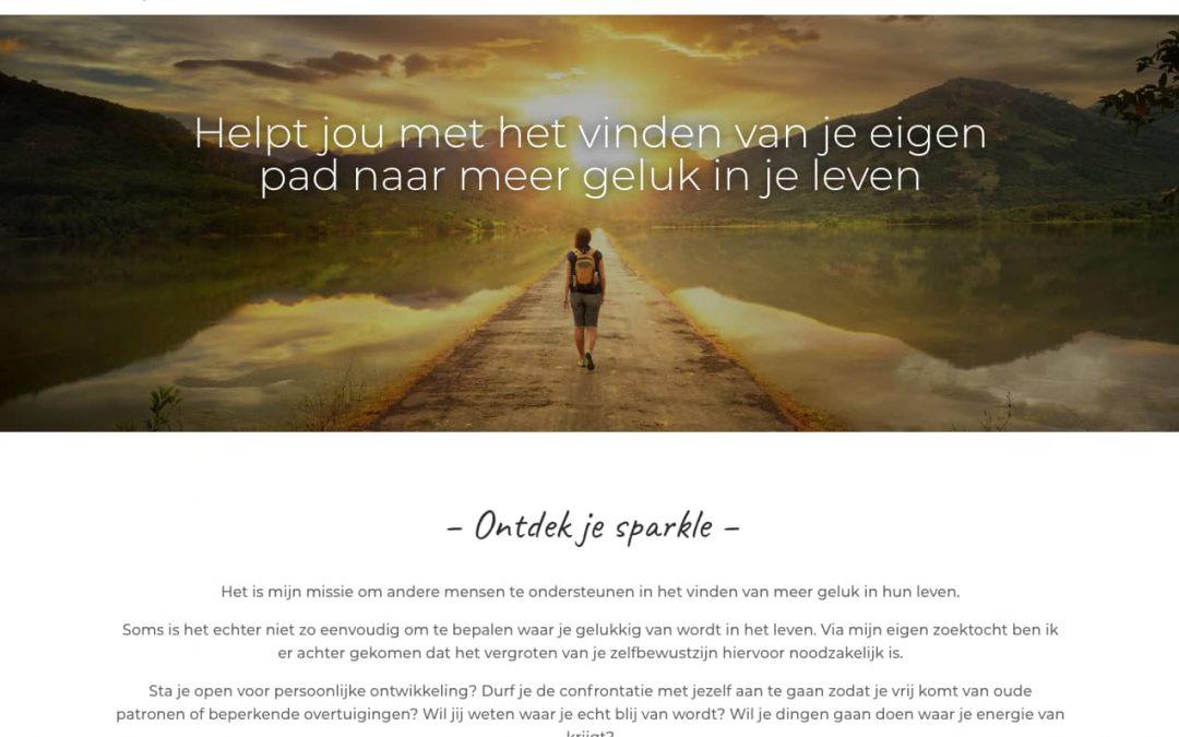 WordPress website voor Happiness Pathfinder